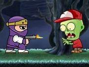 Play Ninja Ben fights zombies